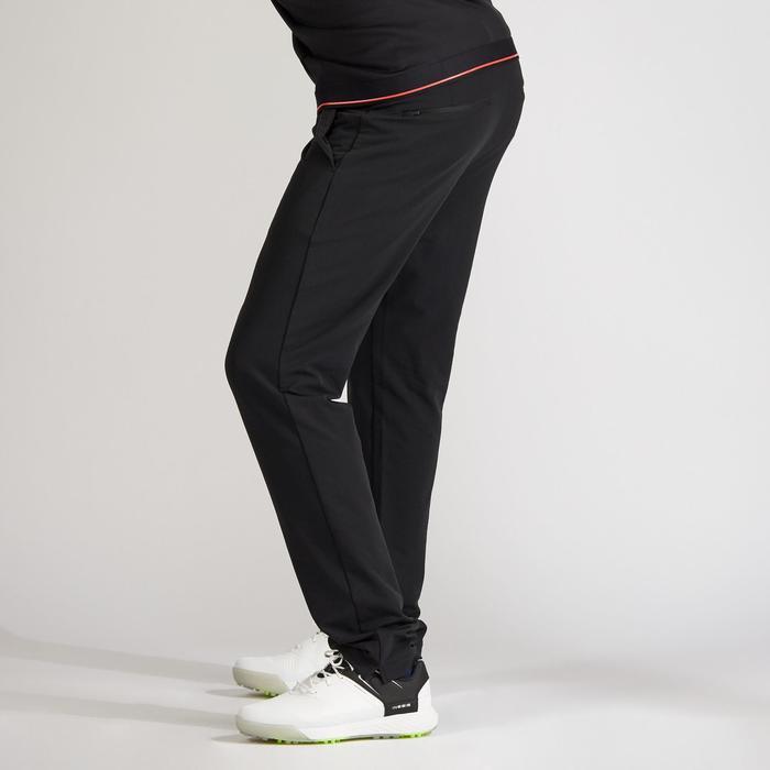 Golfhose warm Herren schwarz