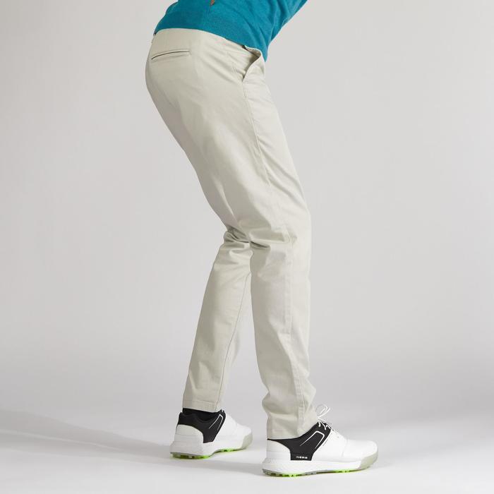 Pantalón Golf Hombre Arena Clima Templado