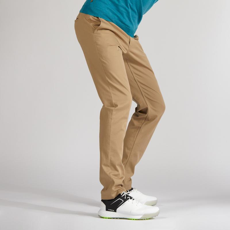 Men's Mild Weather Golf Trousers Beige