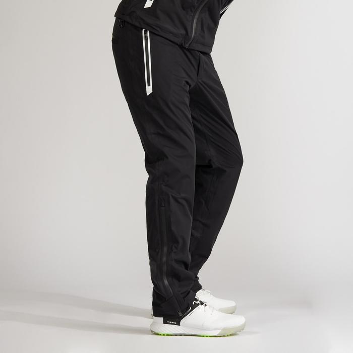 Pantalon de pluie imperméable de golf pour homme NOIR