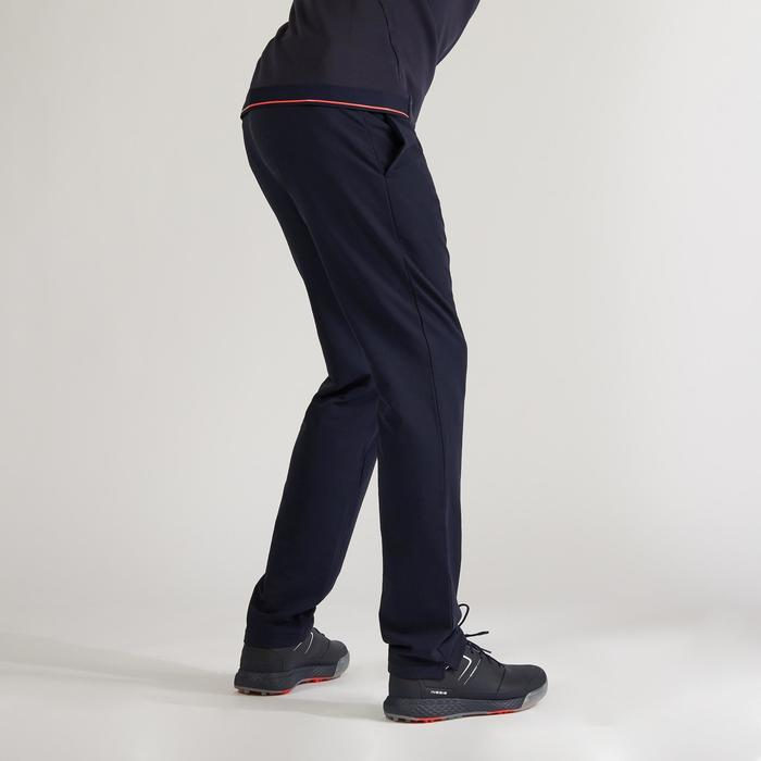 Golfbroek voor heren winter marineblauw