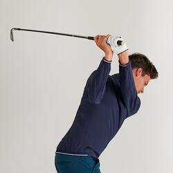 Golf Windbreaker wasserabweisend Herren marineblau