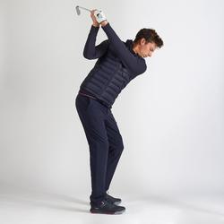 Golf Steppweste warm Herren marineblau