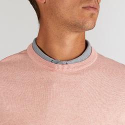 Golftrui voor heren roze