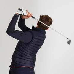 Doudoune de golf sans manches hiver homme CW500 bleu marine