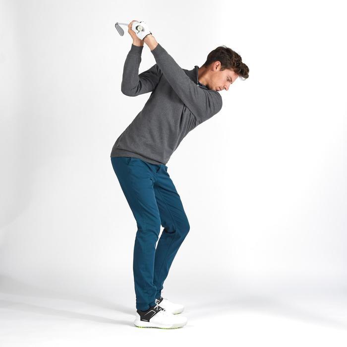 Golf Pullover winddicht Herren dunkelgrau