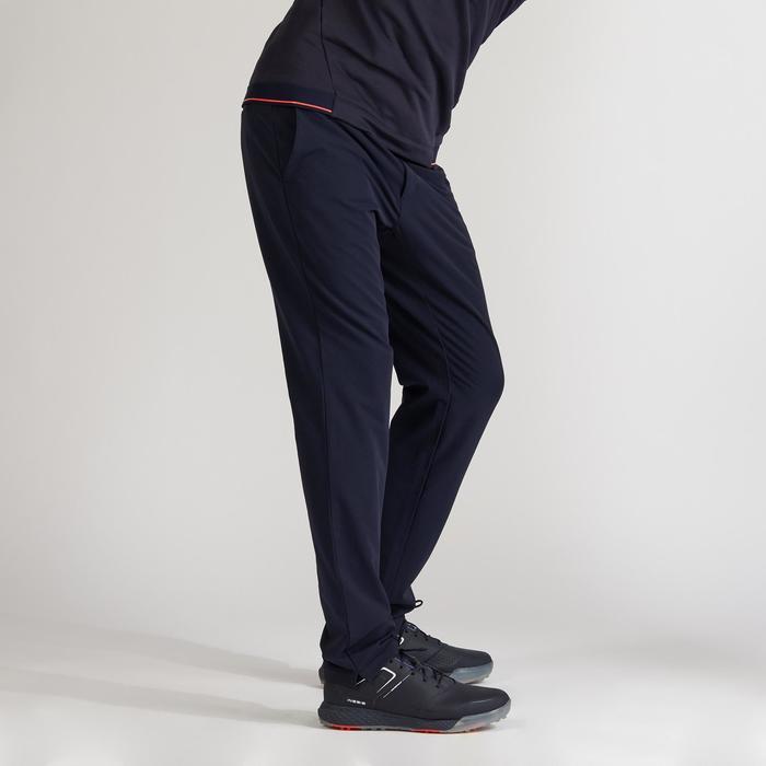 Golfhose warm Herren marineblau