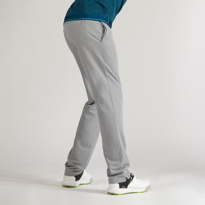 Golfbroek voor heren winter grijs