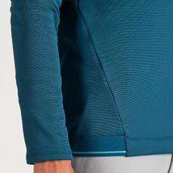 SWEAT POLAIRE GOLF HOMME TEMPS FROID VERT FONCE