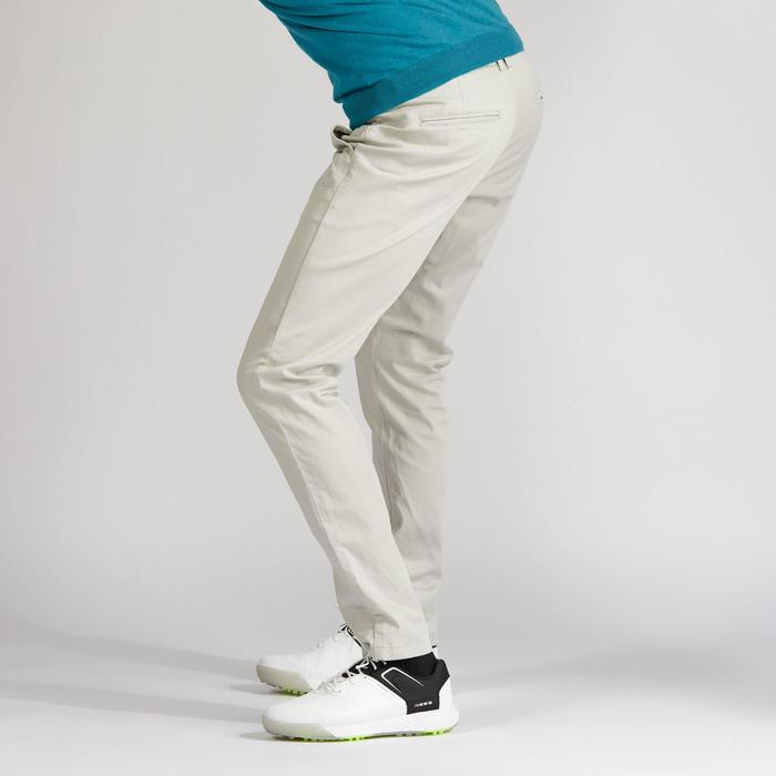 PANTALON DE GOLF HOMME TEMPS TEMPERE SABLE