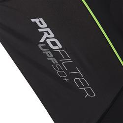 Golf Regenschirm 900 UV-Schutz schwarz/gelb