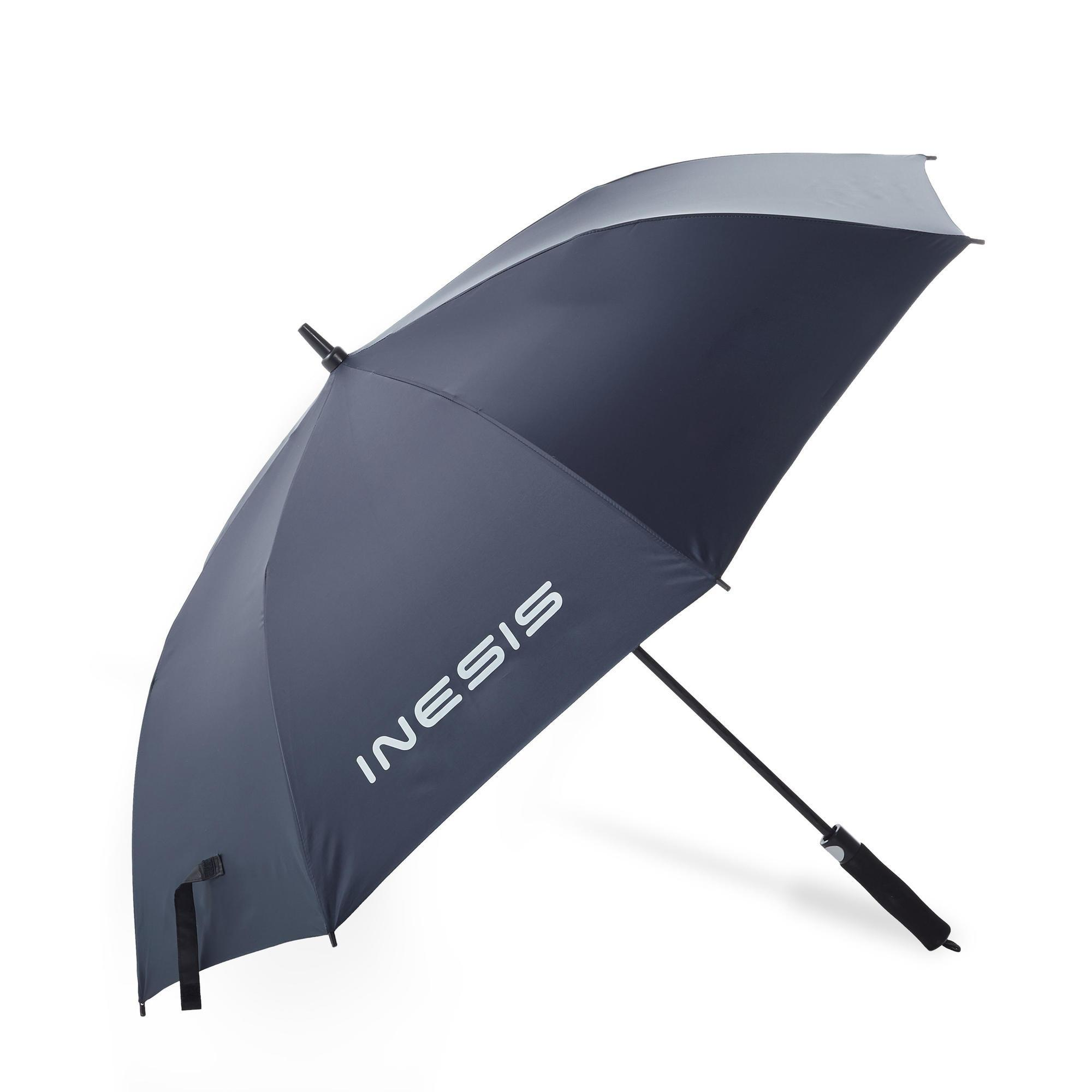 Golf Regenschirm ProFilter Medium dunkelblau | Accessoires > Regenschirme | Inesis