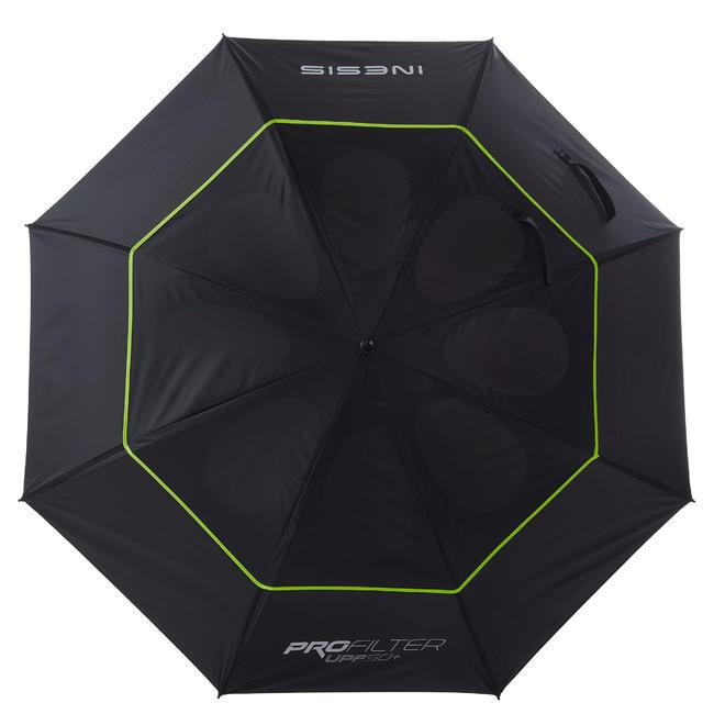 Golf Umbrella Large Black Yellow