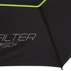 Golf Regenschirm ProFilter groß schwarz/gelb