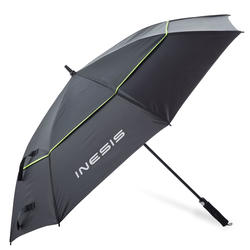 Golf Umbrella Large Black Yellow