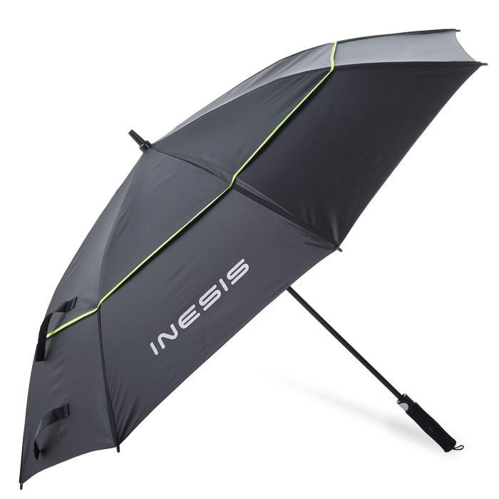 Paraplu 900 met uv-bescherming zwart geel