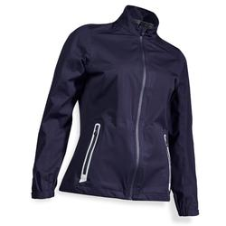 Golf Regenjacke wasserdicht Damen marineblau
