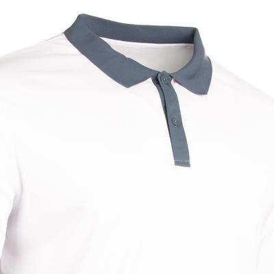 חולצת פולו מסוג Soft 500 לשחקני טנים, בדמינטון, טניס שולחן, פאדל, סקווש - לבן