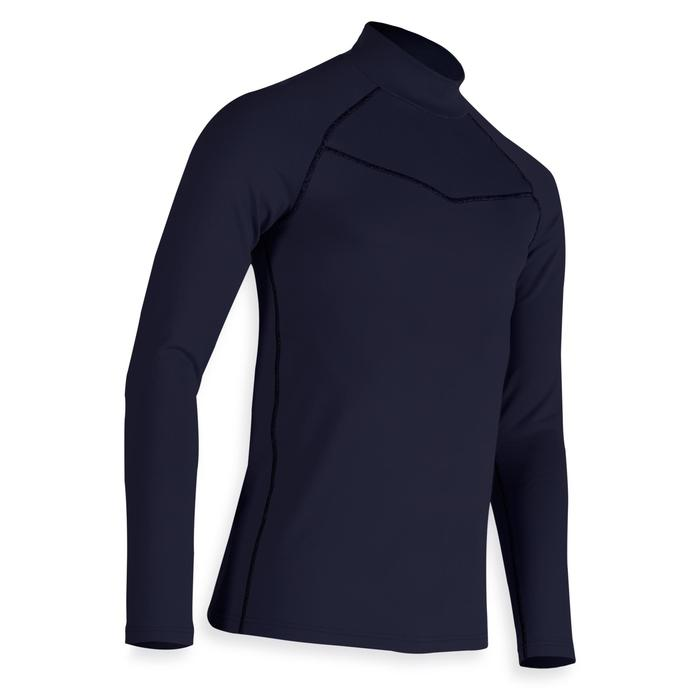 SOUS PULL GOLF HOMME TEMPS FROID BLEU MARINE