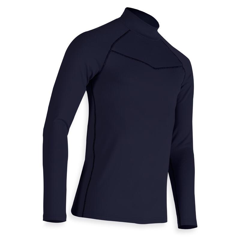 Camiseta Cuello Alto Golf CW500 Hombre Azul Marino Invierno