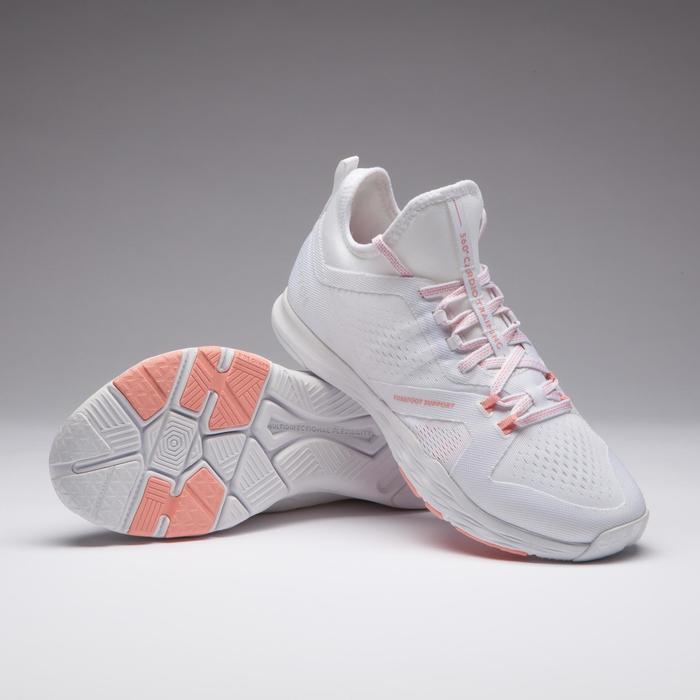 Chaussures cardio fitness training femme 920 blanc