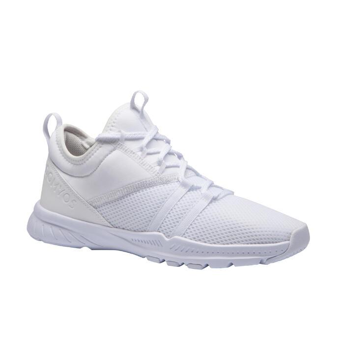 Fitnessschoenen voordames 120 wit