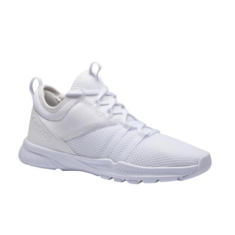 Fitnessschoenen voor dames 120 wit