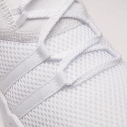 Chaussures cardio fitness training femme 120 blanc