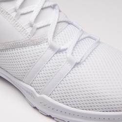 Schoenen voor cardiofitness training dames 120 wit