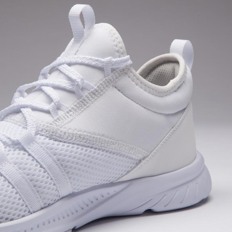 valor fabuloso comprar online colores delicados Calzado de fitness - Zapatillas fitness cardio-training mujer 120 blanco