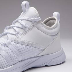 女款有氧健身訓練鞋MID120-白色