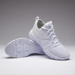 Fitness schoenen cardiotraining 120 voor dames, wit