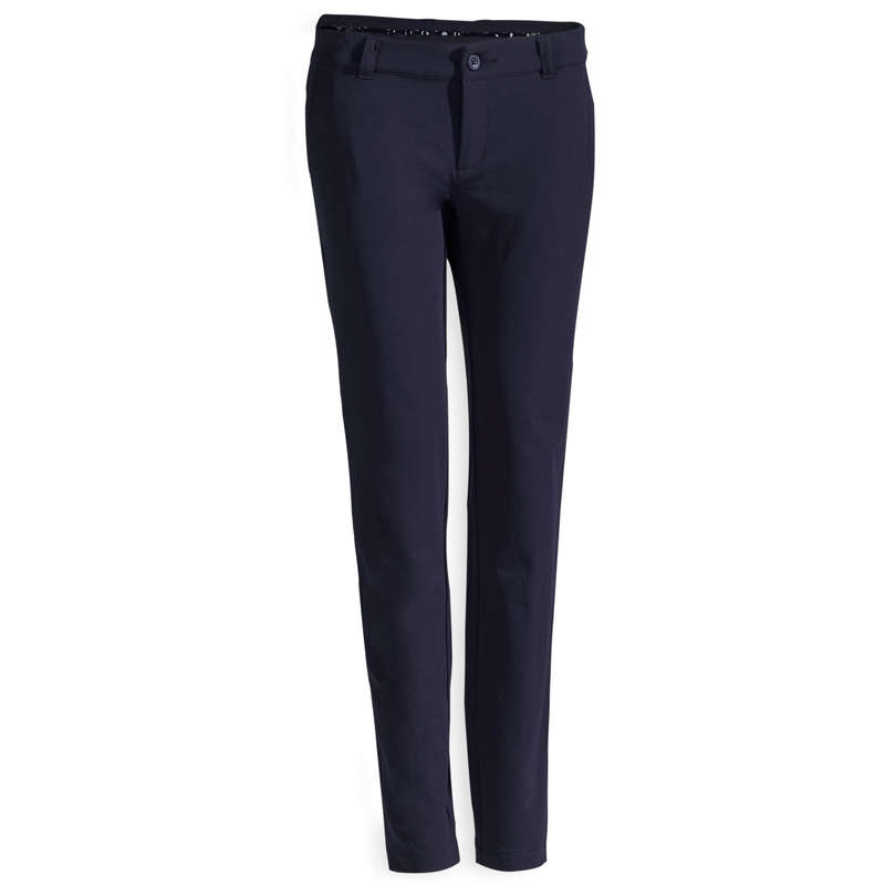 WOMENS COLD WEATHER GOLF CLOTHING Golf - W NAVY CW GOLFING TROUSERS INESIS - Golf Clothing