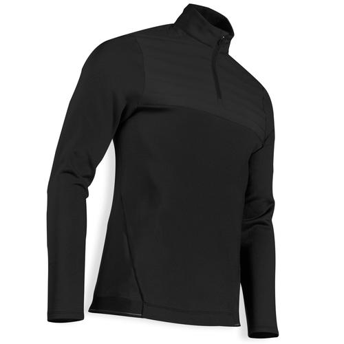 PULL GOLF POLAIRE HOMME TEMPS FROID NOIR