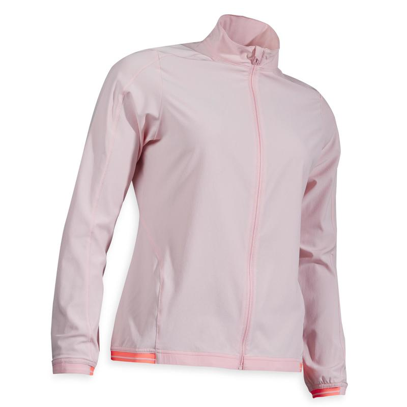 Waterafstotend windjack voor golf dames RW500 roze
