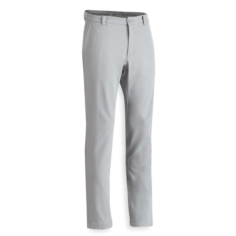 MENS COLD WEATHER GOLF CLOTHING Golf - M CW TROUSERS - GREY INESIS - Golf Clothing