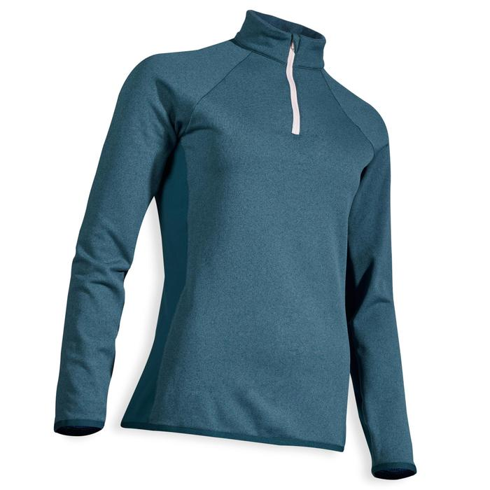 PULL GOLF TEMPS FROID POUR FEMME PETROLE FONCE