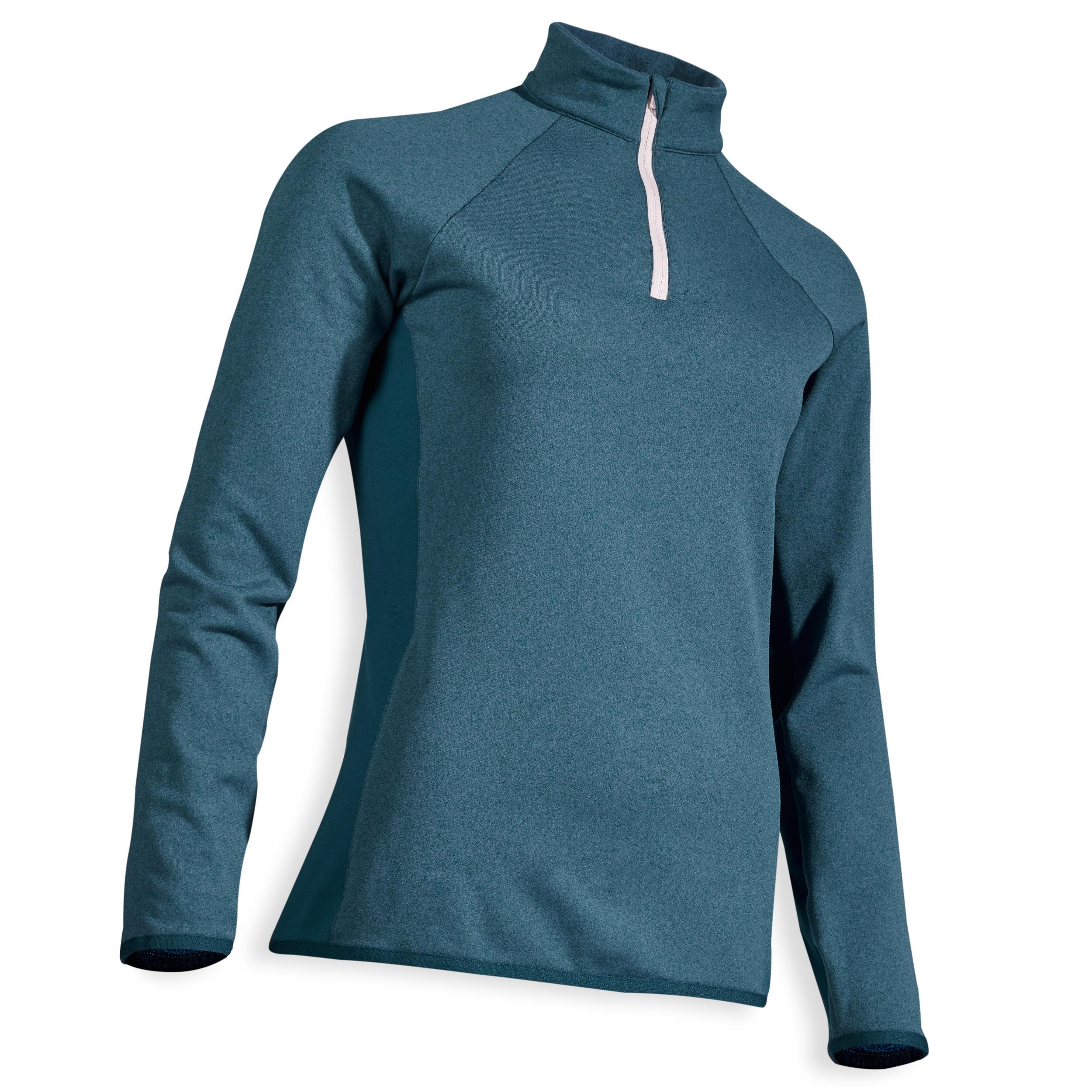 Bluză golf Albastru damă la Reducere poza