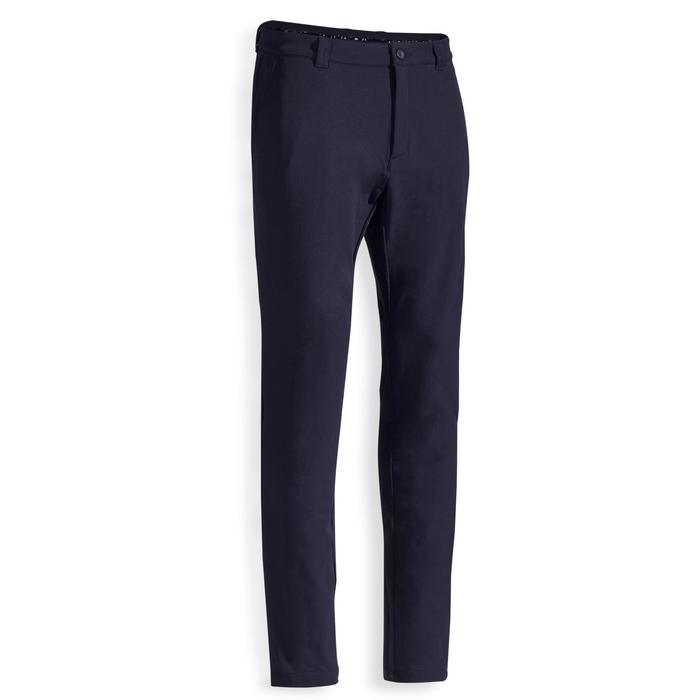 Men's Cold-Weather Golf Trousers - Navy Blue