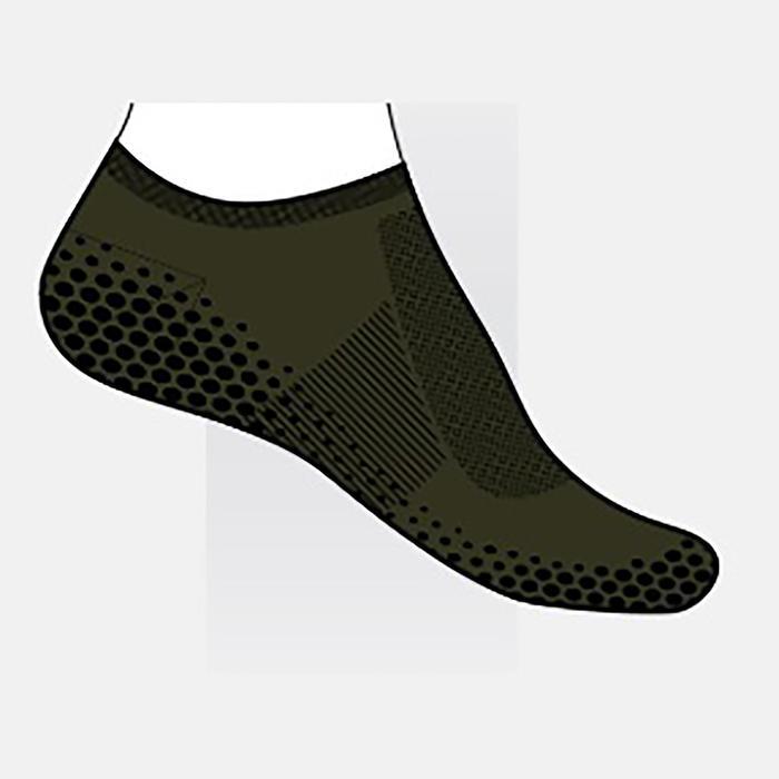 Chaussettes Antidérapantes Sport Pilates homme Vert