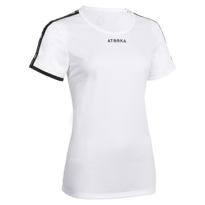 Camiseta Balonmano Atorka H100C mujer blanco