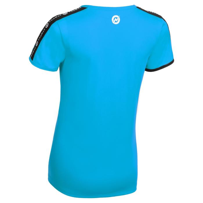 Maillot manches courtes de handball femme H100C bleu clair