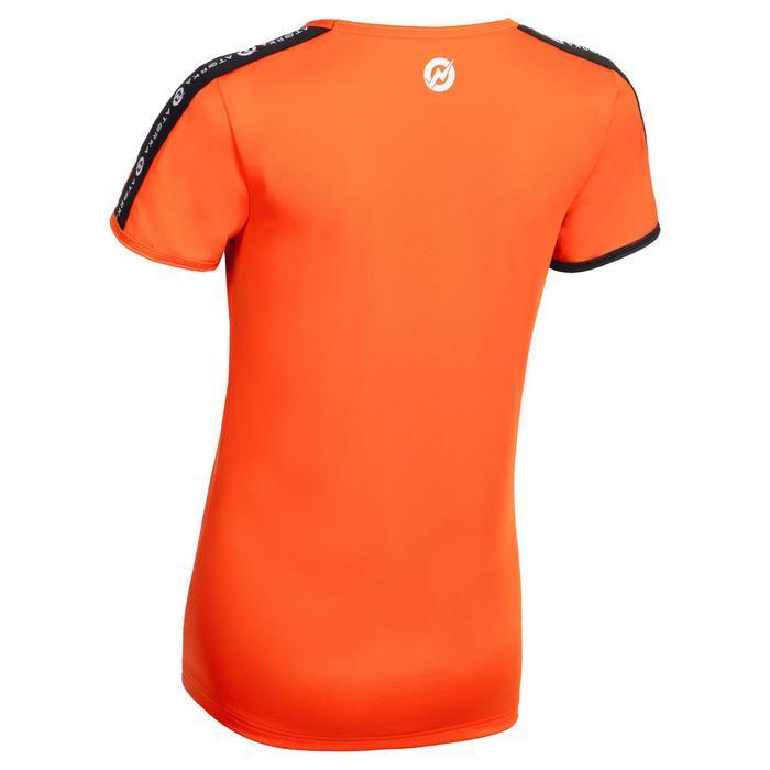 Handbalshirt met korte mouwen voor dames H100C oranje