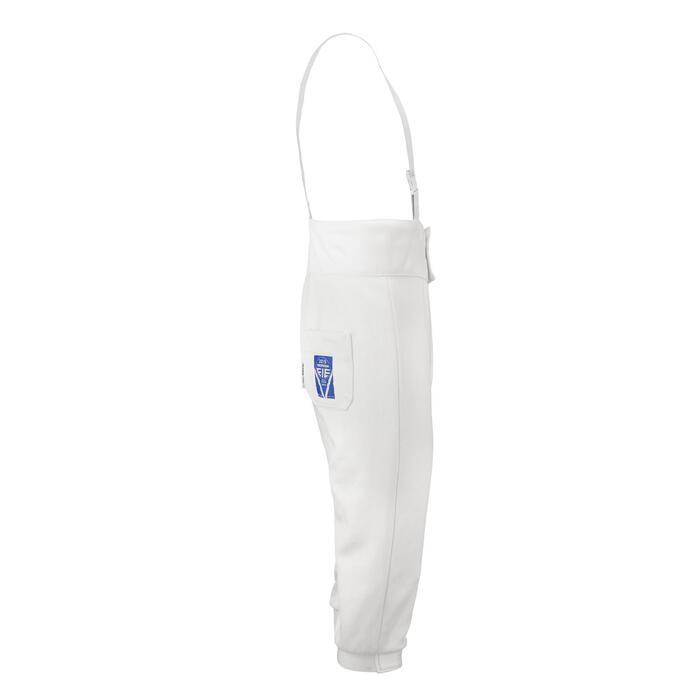 Pantalón de esgrima para hombre (zurdo) 800N