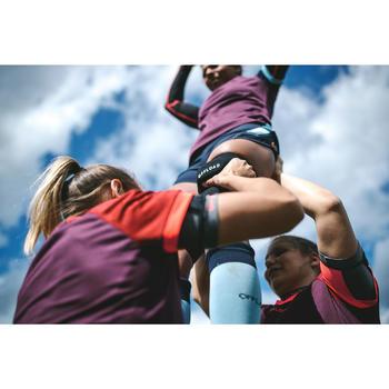 Soporte saltadores Rugby 500 negro