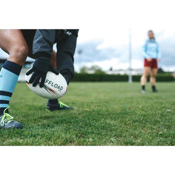 Gants rugby hiver R500 adulte noir