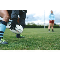 Medias Rugby Offload 500 mujer azul