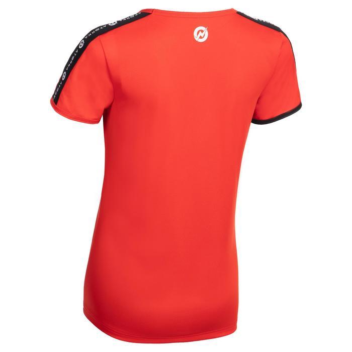 Maillot manches courtes de handball femme H100C rouge
