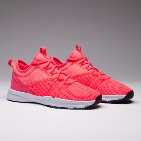Chaussures de fitness femme 120 rose