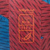 Balón de fútbol Ballground 100 rojo y azul